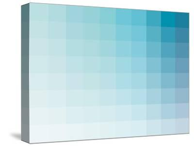 Aqua Rectangle Spectrum-Kindred Sol Collective-Stretched Canvas Print