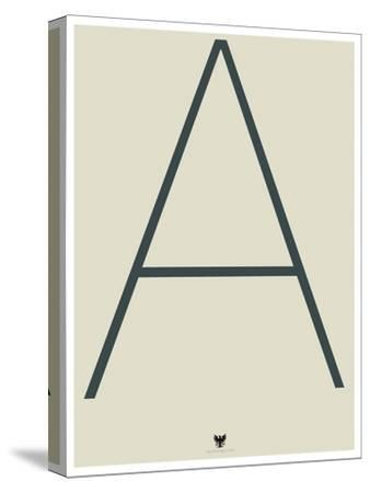 A--Stretched Canvas Print