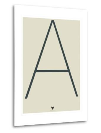 A--Metal Print