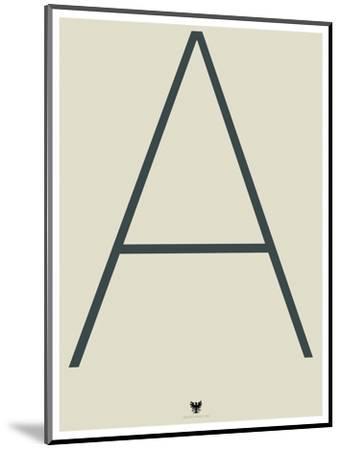 A--Mounted Art Print