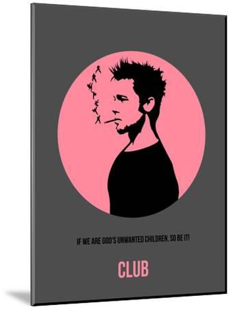 Club Poster 1-Anna Malkin-Mounted Art Print