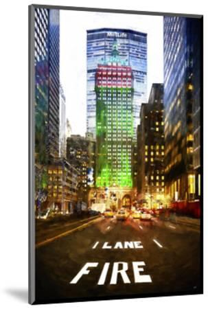 Manhattan Fire Lane-Philippe Hugonnard-Mounted Art Print