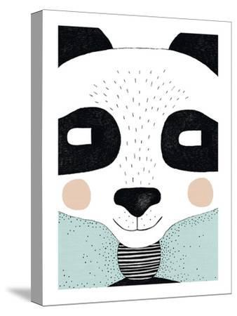 Big Panda-Seventy Tree-Stretched Canvas Print