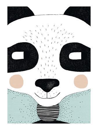Big Panda-Seventy Tree-Art Print