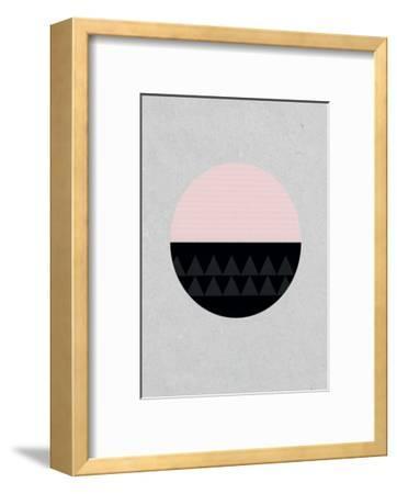 Circular-Seventy Tree-Framed Art Print