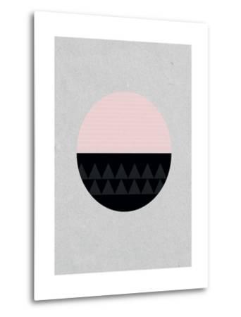 Circular-Seventy Tree-Metal Print