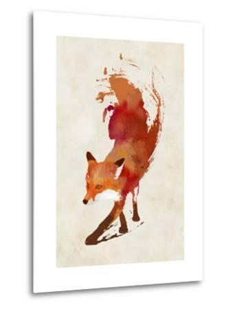 Vulpes Vulpes-Robert Farkas-Metal Print