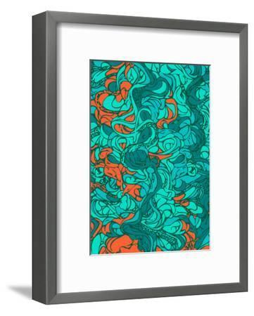 Waves-lordcasco11-Framed Art Print