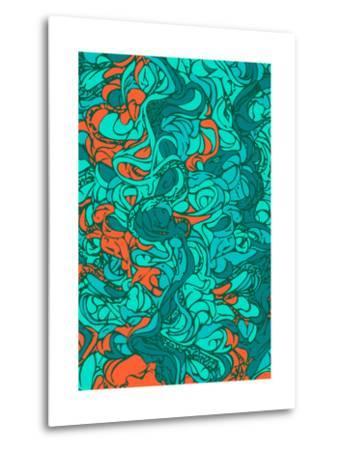 Waves-lordcasco11-Metal Print