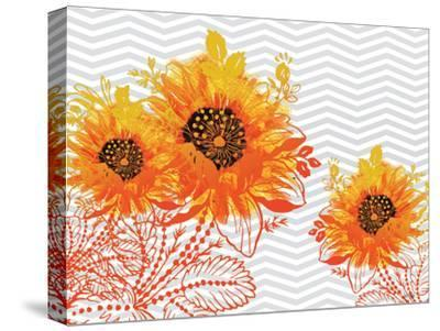 Sunflower Sunday-Bee Sturgis-Stretched Canvas Print