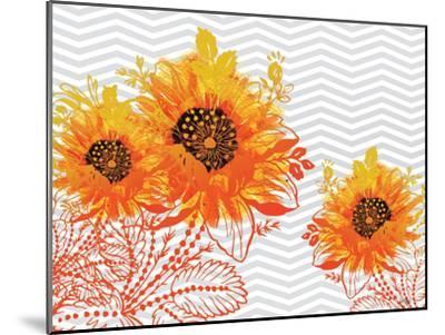 Sunflower Sunday-Bee Sturgis-Mounted Art Print