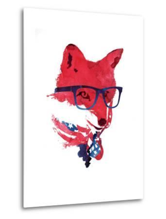 American Fox-Robert Farkas-Metal Print