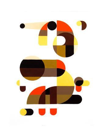 In and Out-Antony Squizzato-Art Print