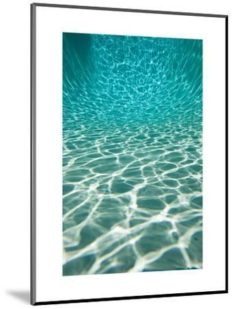 The Sun is Reflected in Patterns in a Pool, San Diego, California-Tim Laman-Mounted Art Print