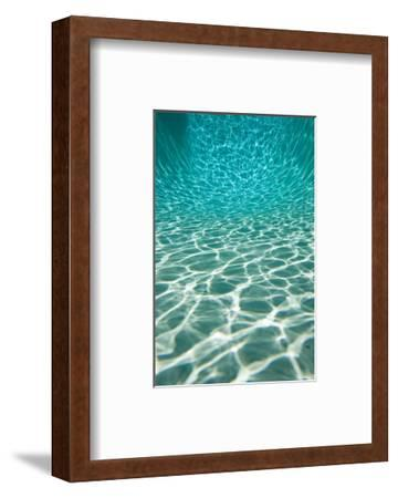 The Sun is Reflected in Patterns in a Pool, San Diego, California-Tim Laman-Framed Art Print