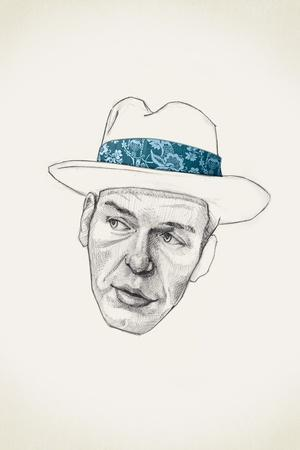 Sinatra-Jason Ratliff-Stretched Canvas Print