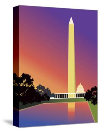 Washington Monument in Washington, DC, USA--Stretched Canvas Print