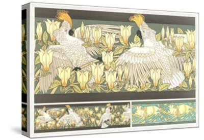 Multiple Animal and Floral Borders--Stretched Canvas Print