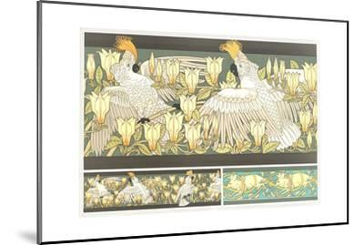 Multiple Animal and Floral Borders--Mounted Art Print