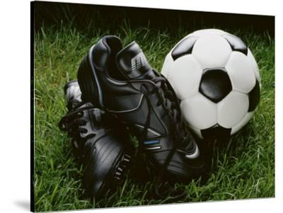Soccer Still Life--Stretched Canvas Print