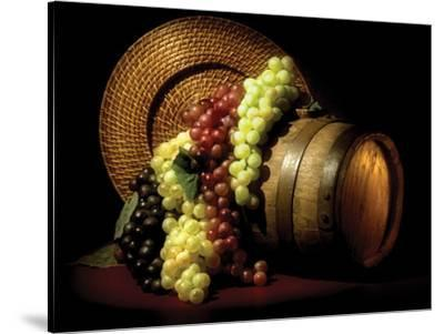 Wine Grapes-C^ McNemar-Stretched Canvas Print