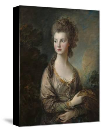 The Honorable Mrs. Thomas Graham, 1775-77-Thomas Gainsborough-Stretched Canvas Print