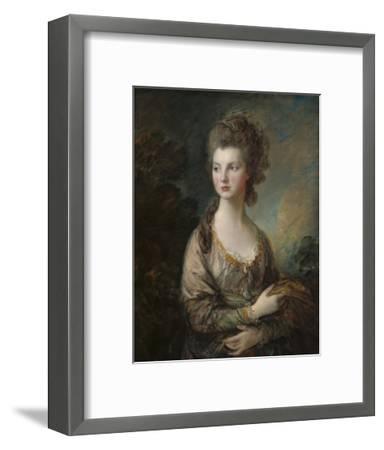 The Honorable Mrs. Thomas Graham, 1775-77-Thomas Gainsborough-Framed Giclee Print