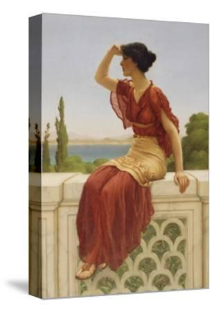 The Signal, 1899-John William Godward-Stretched Canvas Print