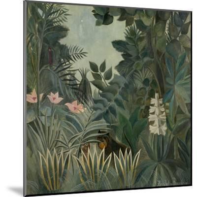 The Equatorial Jungle, 1909-Henri Rousseau-Mounted Giclee Print