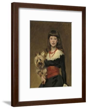 Miss Beatrice Townsend, 1882-John Singer Sargent-Framed Giclee Print