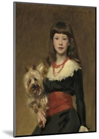 Miss Beatrice Townsend, 1882-John Singer Sargent-Mounted Giclee Print