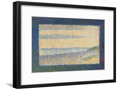 Seascape (Gravelines), 1890-Georges Seurat-Framed Giclee Print