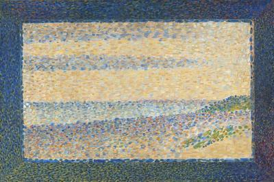 Seascape (Gravelines), 1890-Georges Seurat-Stretched Canvas Print