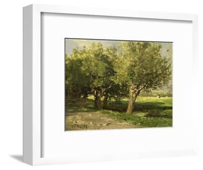 Wilgebome (Willow Trees), 1st, 1875-85-Willem Roelofs I-Framed Giclee Print
