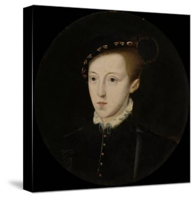 Portrait of Edward VI (1537-1553), King of England, C. 1550--Stretched Canvas Print