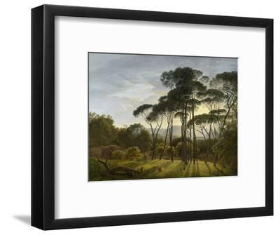 Italian Landscape with Umbrella Pines, 1805-Hendrik Voogd-Framed Giclee Print