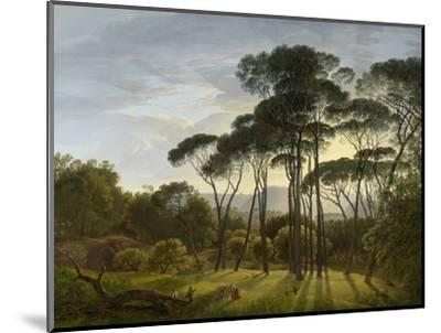 Italian Landscape with Umbrella Pines, 1805-Hendrik Voogd-Mounted Giclee Print