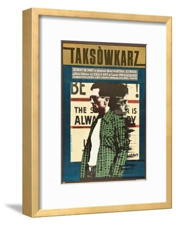 Taxi Driver, Robert De Niro on Polish Poster Art, 1976--Framed Giclee Print