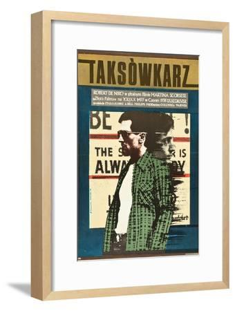 Taxi Driver, Robert De Niro on Polish Poster Art, 1976--Framed Premium Giclee Print