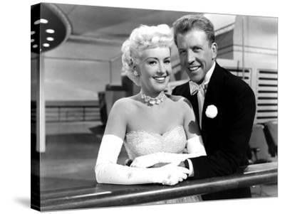 My Blue Heaven, Betty Grable, Dan Dailey, 1950--Stretched Canvas Print