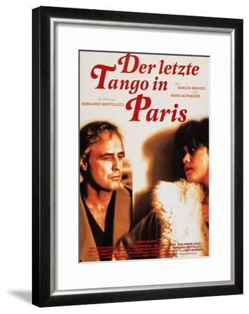 Last Tango in Paris, (aka Der Letzte Tango in Paris), 1972--Framed Giclee Print