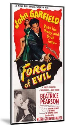 Force of Evil, John Garfield, Beatrice Pearson, 1948--Mounted Giclee Print