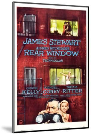Rear Window, Grace Kelly, James Stewart, 1954--Mounted Giclee Print