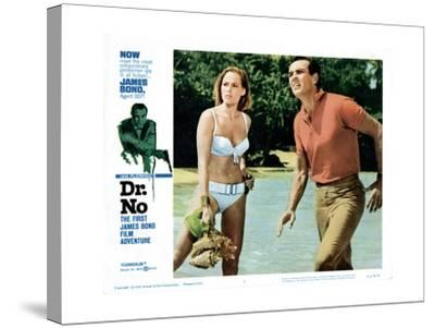 Dr. No, Ursula Andress, Sean Connery, 1962--Stretched Canvas Print
