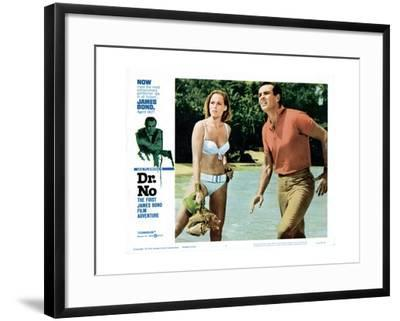 Dr. No, Ursula Andress, Sean Connery, 1962--Framed Giclee Print