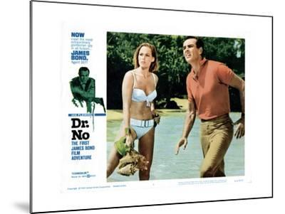Dr. No, Ursula Andress, Sean Connery, 1962--Mounted Giclee Print