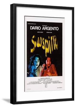 Suspiria, Italian Poster Art, Jessica Harper, 1977--Framed Giclee Print