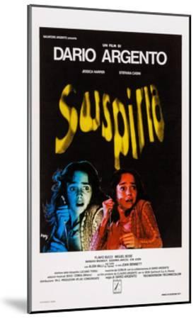 Suspiria, Italian Poster Art, Jessica Harper, 1977--Mounted Giclee Print