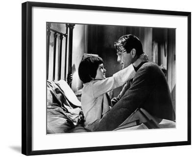 To Kill a Mockingbird, from Left: Mary Badham, Gregory Peck, 1962--Framed Photo