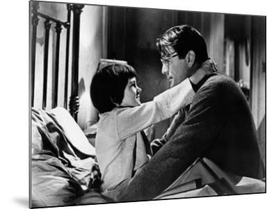 To Kill a Mockingbird, from Left: Mary Badham, Gregory Peck, 1962--Mounted Photo